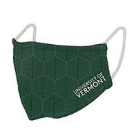 Hexagonal Spellout 2-Ply Face Mask
