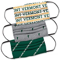 UVM 3-Ply Mask Three Pack