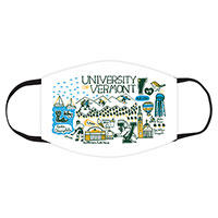 Julia Gash UVM Campus 2-Ply Mask