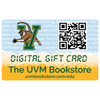 Digital UVM Bookstore Gift Card